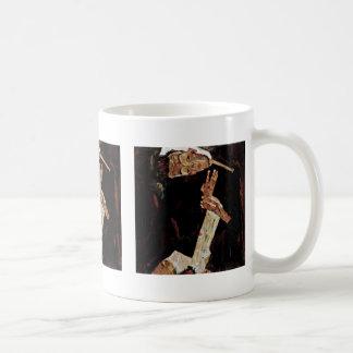 The Poet By Schiele Egon Mugs
