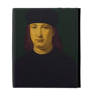 The Poet Casio, c.1495-1500 (oil on panel) iPad Folio Cases