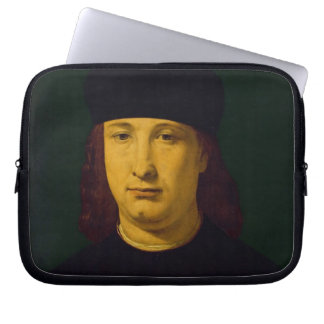 The Poet Casio, c.1495-1500 (oil on panel) Computer Sleeves