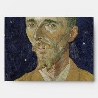 The Poet Eugene Boch by Vincent Van Gogh Envelope