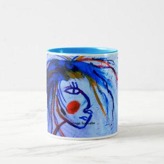 the poet Two-Tone coffee mug
