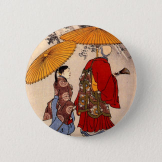 The poet Yacuren and a companion strolling Button