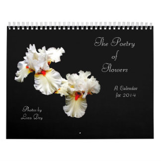 'The Poetry of Flowers' 2014 Calendar