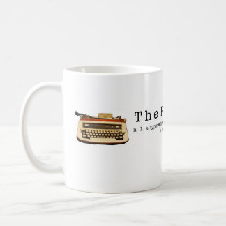The Poetry Store banner mug