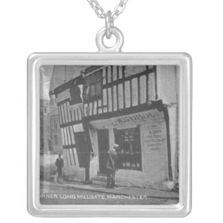 The Poet's Corner Silver Plated Necklace