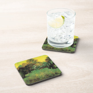 The Poet's Garden by Vincent van Gogh. Coaster