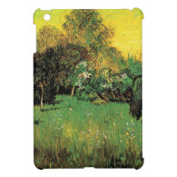 The Poet's Garden by Vincent van Gogh. Cover For The iPad Mini