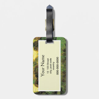 The Poet's Garden by Vincent van Gogh. Luggage Tag