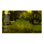 The Poet's Garden Van Gogh Fine Art Double-Sided Standard Business Cards (Pack Of 100)