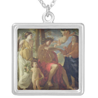 The Poet's Inspiration Silver Plated Necklace