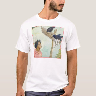 The Poet's Journey: The ravens T-Shirt