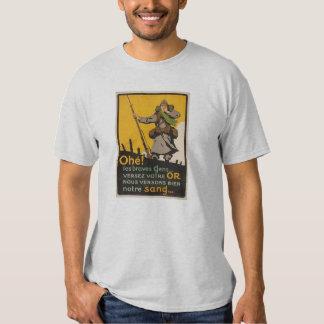 "The  ""Poilu"" of WWI - Reenacting Shirt"