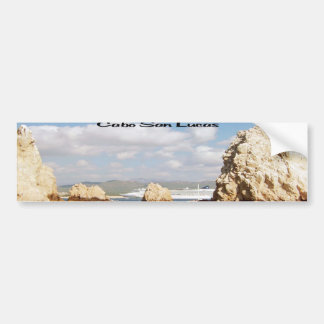 The point at Cabo San Lucas Car Bumper Sticker