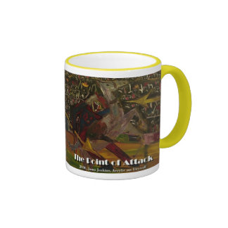 the point of attack  mug