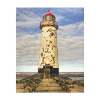 The Point of Ayr Lighthouse Canvas