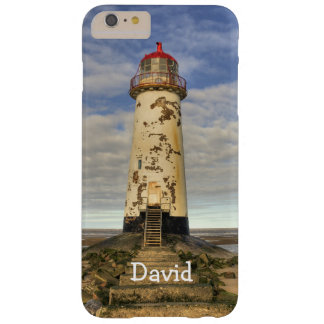 The Point of Ayr Lighthouse Wales Personalized Barely There iPhone 6 Plus Case