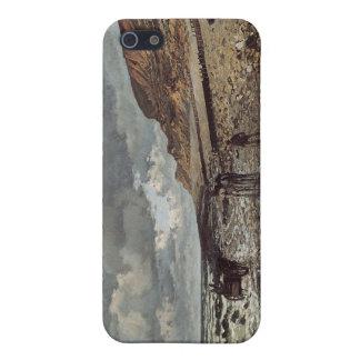 The Pointe de La Hève at Low Tide - Claude Monet Case For iPhone SE/5/5s