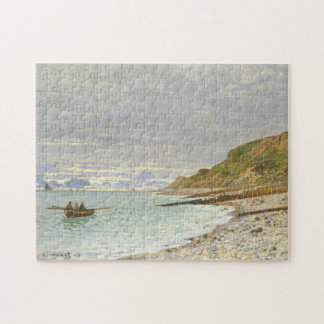 The Pointe Of Heve Monet Fine Art Jigsaw Puzzle