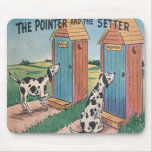 The Pointer and The Setter - Mousepad...