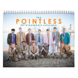 The Pointless 2013 Members Calendar