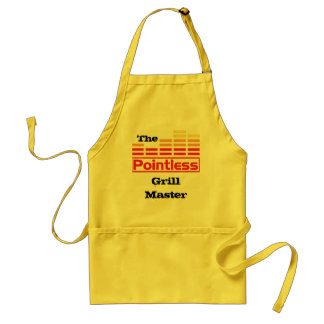 The Pointless Grill Master Adult Apron