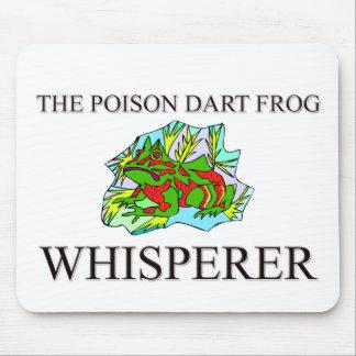 The Poison Dart Frog Whisperer Mouse Pad