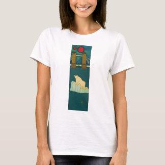 The Polar Bear and his cub visit London 2009 T-Shirt