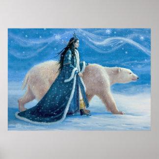The Polar Bear and the Snow Princess Poster