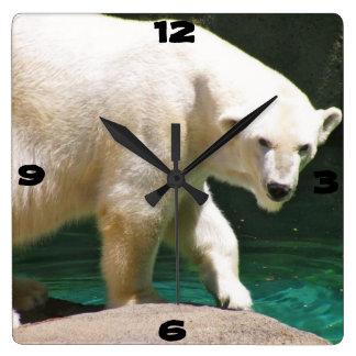THE POLAR BEAR clock
