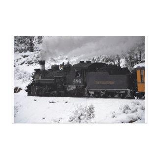 The Polar Express - Durango Colorado Canvas Print