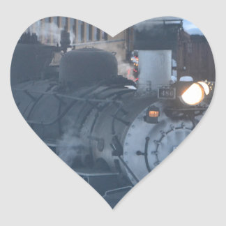 The Polar Express Engine Heart Sticker