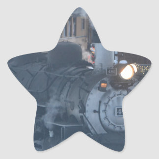 The Polar Express Engine Star Sticker