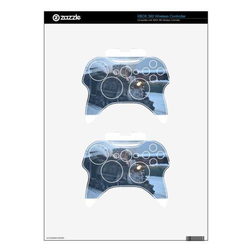 The Polar Express Engine Xbox 360 Controller Decal