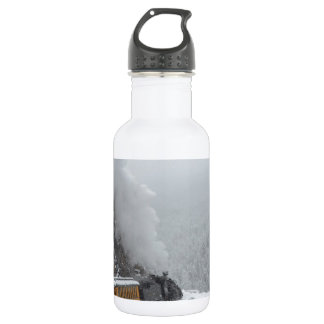 The Polar Express Rounds the Bend Stainless Steel Water Bottle