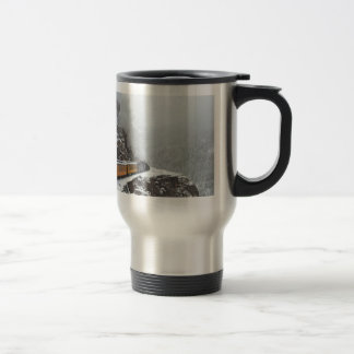 The Polar Express Rounds the Bend Travel Mug