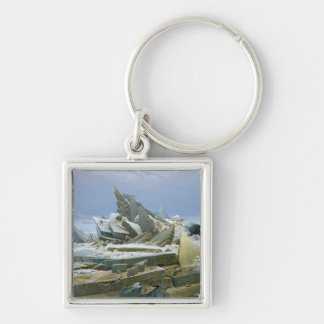 The Polar Sea, 1824 Keychain
