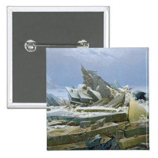 The Polar Sea, 1824 Pinback Button
