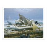 The Polar Sea, 1824 Postcard