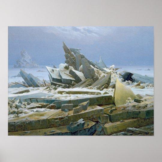 The Polar Sea, 1824 Poster