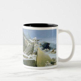 The Polar Sea, 1824 Two-Tone Coffee Mug