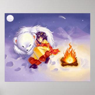 The Polar Sleep Poster Print