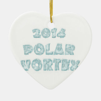 The Polar Vortex Memorial Christmas Ornament