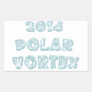 The Polar Vortex Memorial Rectangular Stickers