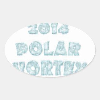 The Polar Vortex Memorial Sticker