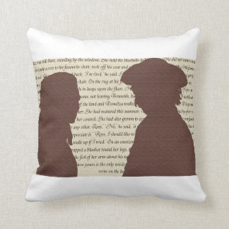 The Poldarks Throw Pillow