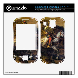 The Polish Rider by Rembrandt Harmenszoon van Rijn Samsung Flight Decal