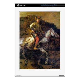 The Polish Rider by Rembrandt Harmenszoon van Rijn PS3 Skins