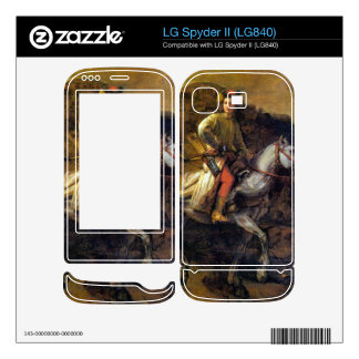 The Polish Rider by Rembrandt Harmenszoon van Rijn Decal For LG Spyder II