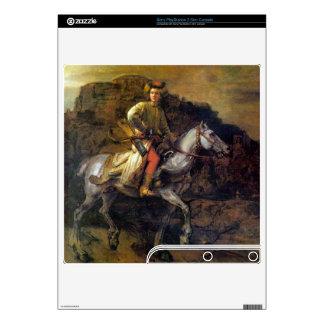 The Polish Rider by Rembrandt Harmenszoon van Rijn PS3 Slim Decals