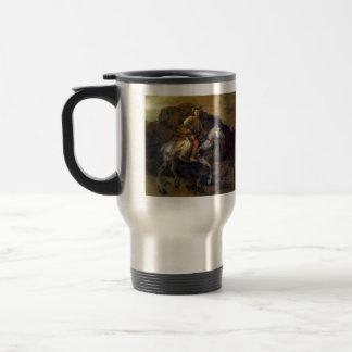 The Polish Rider by Rembrandt Harmenszoon van Rijn Travel Mug